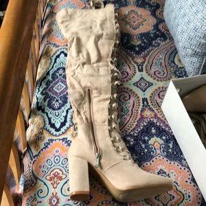 Lola Shoetique knee high boots
